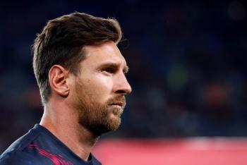 Messi se lesiona y no viaja con el Barcelona a EU