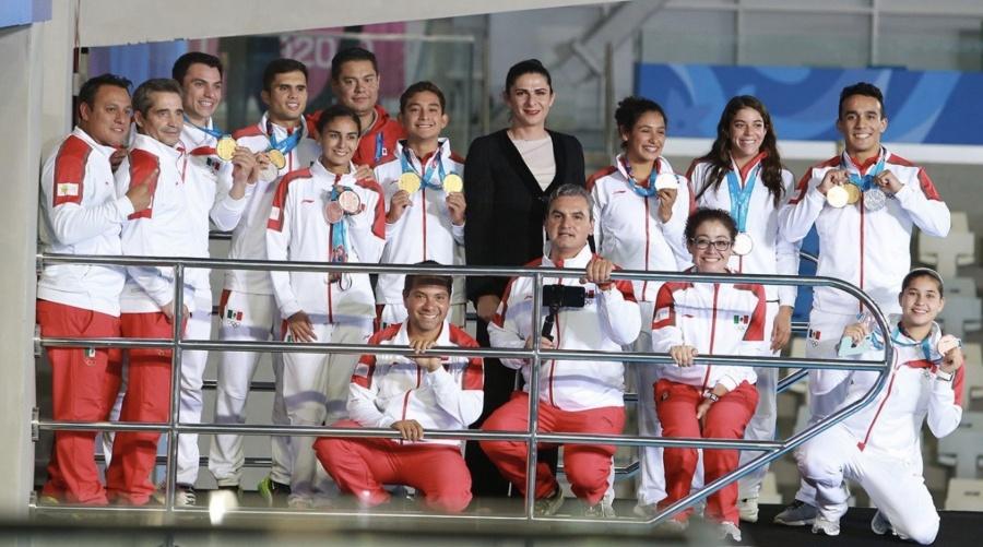 Entregará el Gobierno 240 mil pesos a deportistas que participan en Lima 2019