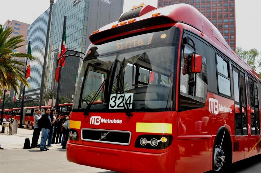16 mil unidades de transporte en CDMX contarán con GPS y cámaras