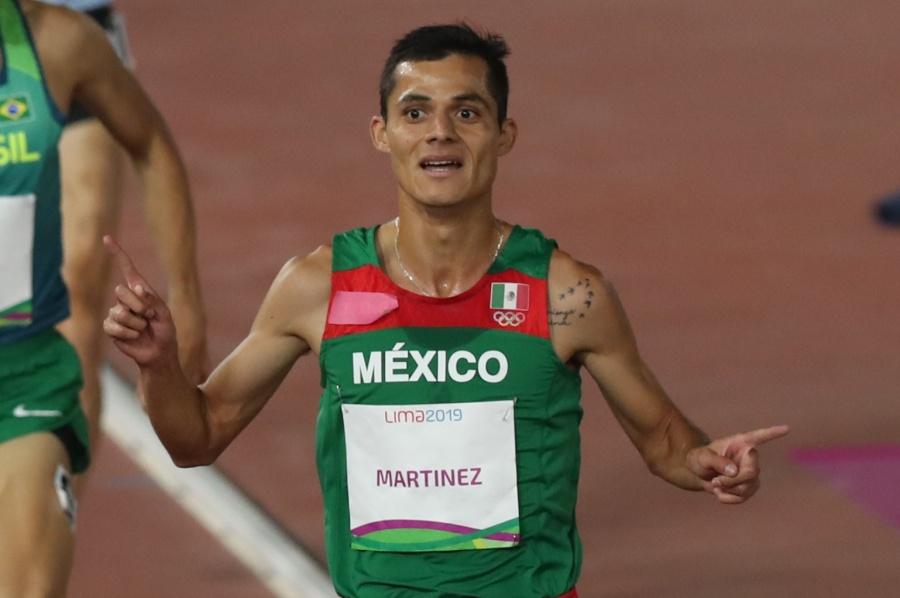 Fernando Martinez, consigue oro en los 5 mil metros en Lima 2019