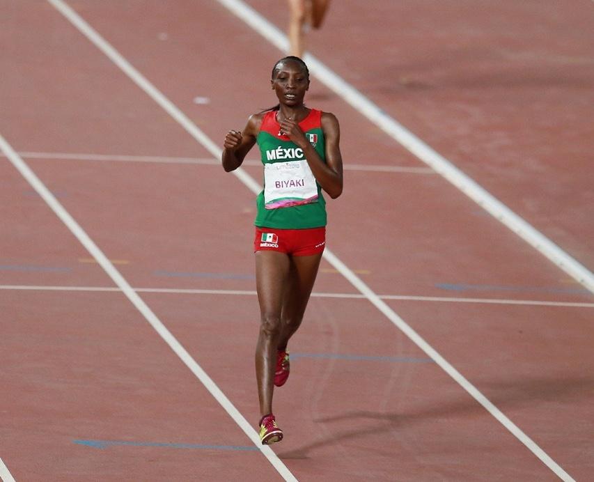 Risper Biyaki, gana medalla de plata en atletismo para México en Lima 2019