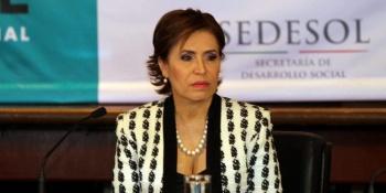 Paga Rosario Robles casi 70 mil pesos para evitar ser aprehendida