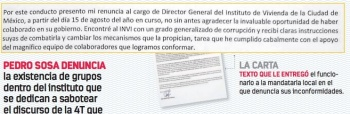 Exdirector del INVI acusa chantaje, corrupción...