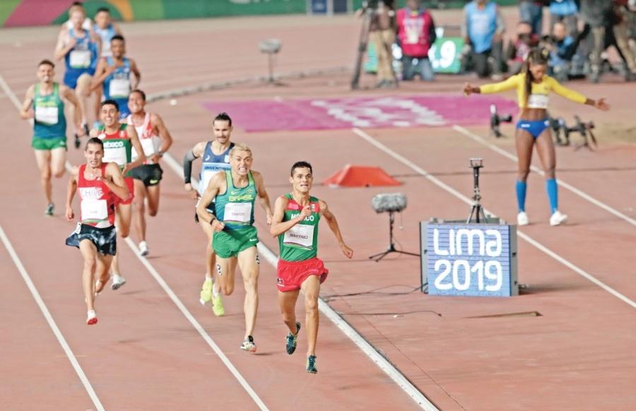 Con Medalla de Oro, Fernando Martínez brilla en el Atletismo
