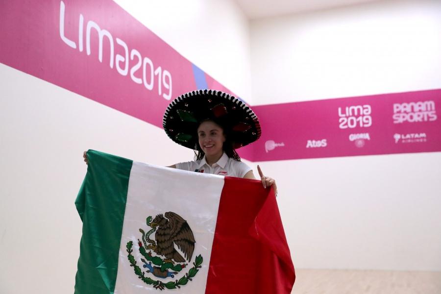 Paola Longoria, logra medalla de oro y se consigue tricampeonato en Lima 2019