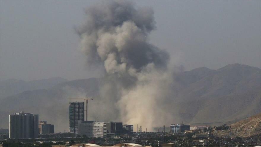 Deja 95 heridos ataque explosivo talibán en Afganistán
