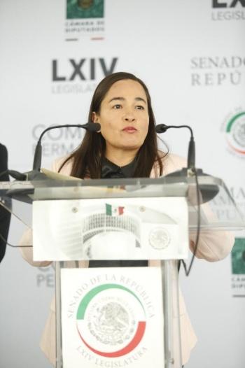 Se debe acatar la legalidad en cuanto a la gobernabilidad del Congreso: Verónica Juárez