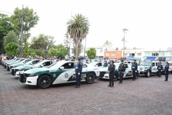Refuerza Gobierno de la Ciudad seguridad en Tláhuac
