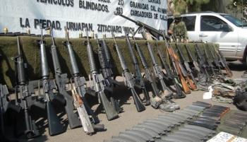 En el país hay 16 millones de fusiles, la mayoría ilicitos, indica instituto