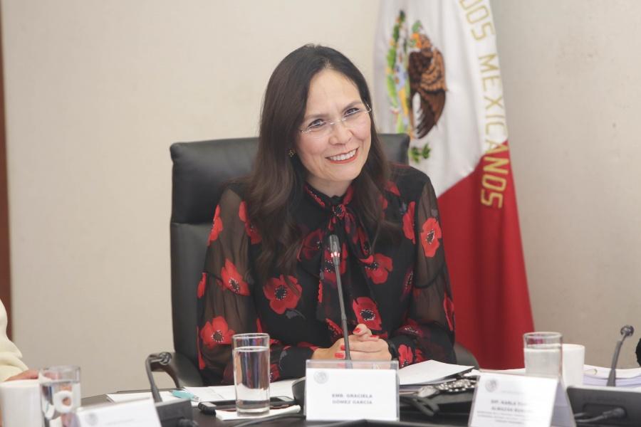 Ratifican a embajadora de México en Qatar