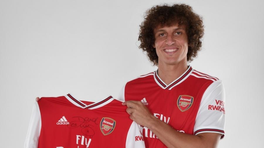 Arsenal anuncia la llegada de David Luiz