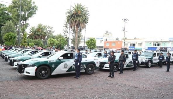 Con 34 patrullas, refuerzan seguridad en Tláhuac