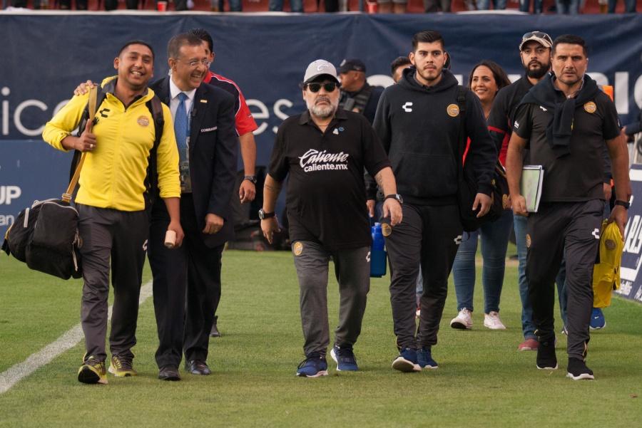 Se reunirá abogado de Maradona con directiva de Dorados con vistas a un posible retorno
