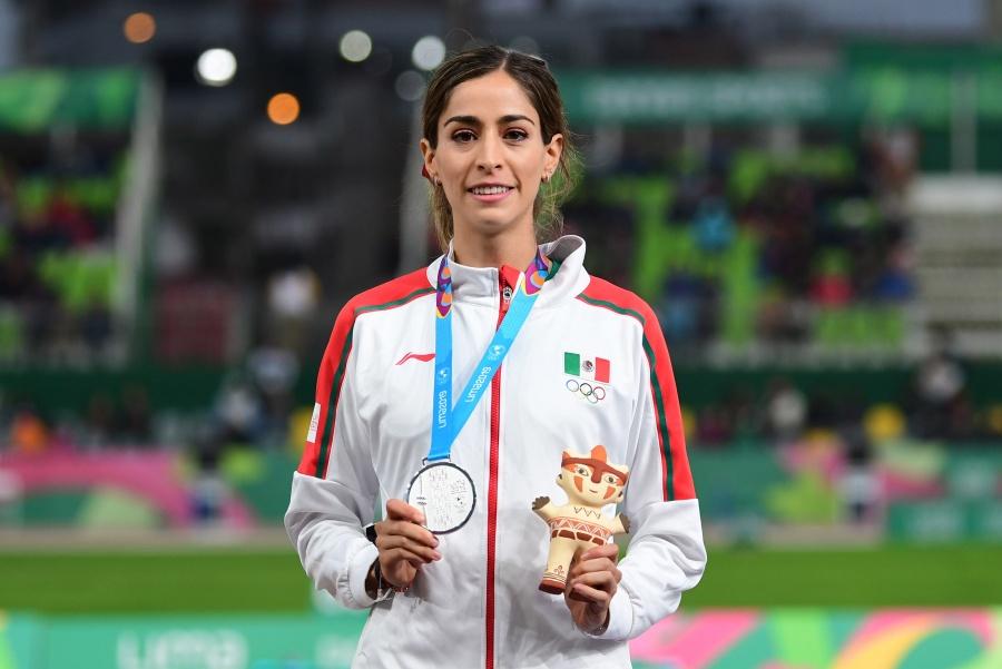Paola Morán se cuelga la medalla de plata en 400 metros planos en Lima 2019