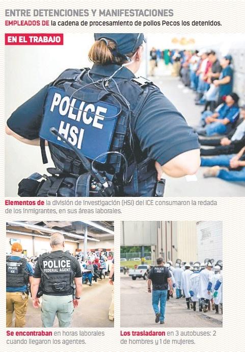 Trump lanza la mayor redada antiinmigrantes en diez años; arrestan a 680