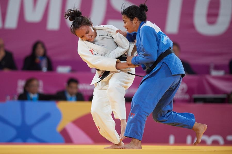 Edna Carrillo, logra el bronce en judo en Lima 2019