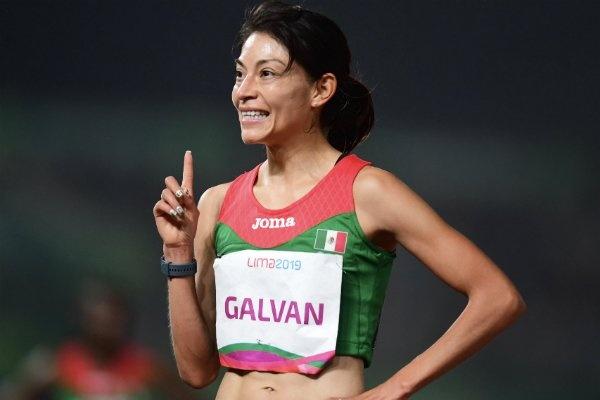 Laura Galván, campeona en los 5 mil metros en Lima 2019