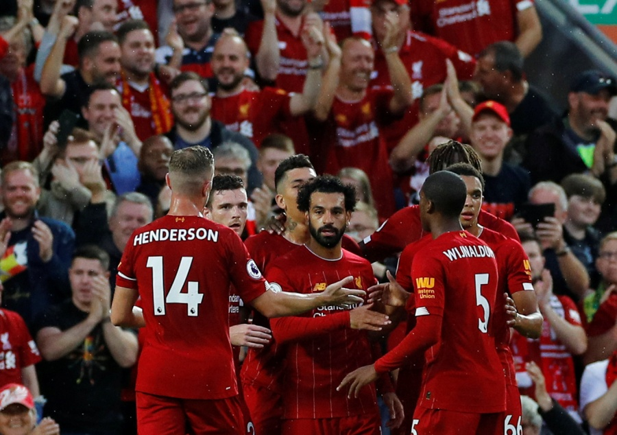 Liverpool arrolla al Norwich en su debut en la Premier League