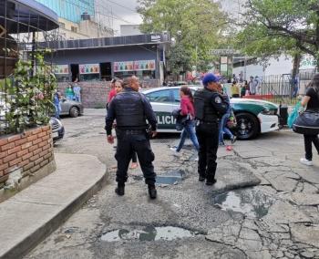 Se registra balacera cerca del Metro Copilco