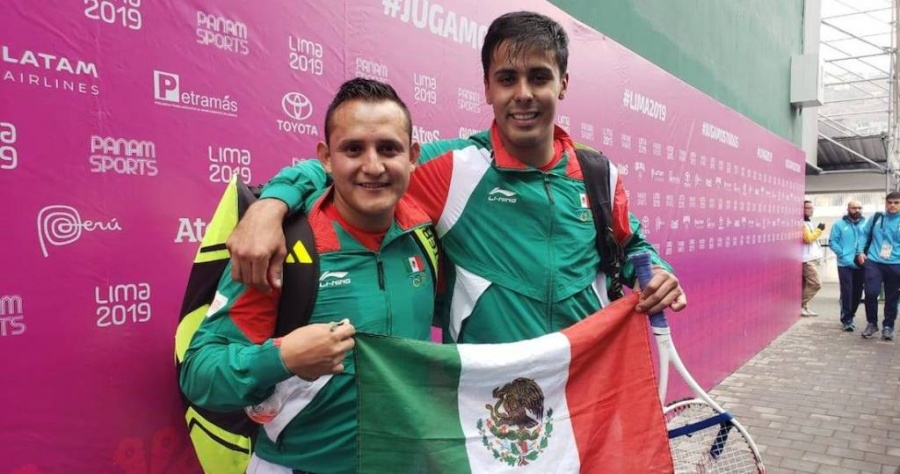 Frontenis le da a México otra medalla de oro en los Panamericanos 2019