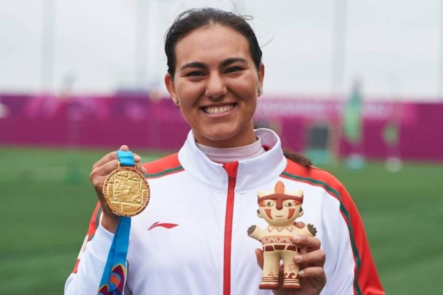 Alejandra Valencia logra medalla de oro para México en arco recurvo individual femenil