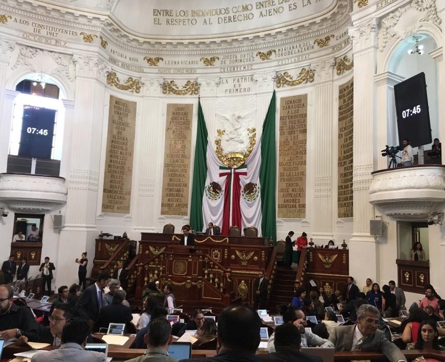 Pide Coparmex CDMX que Congreso local no apruebe la nueva Ley de Participación Ciudadana