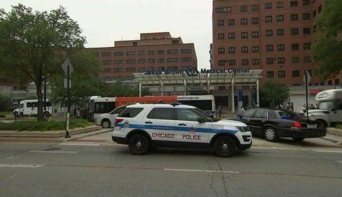 Reportan tiroteo en hospital de Chicago