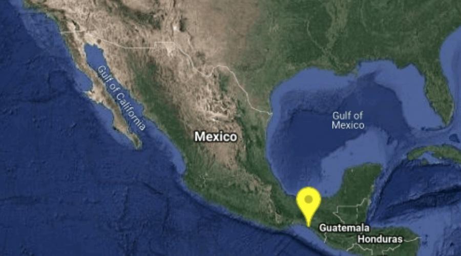 Sismo de 5.4 grados sacude Chiapas