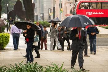 Valle de México registrará lluvias por la tarde