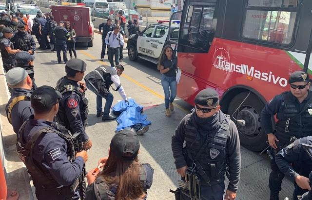 Sujeto pierde la vida tras ser arrollado por unidad de Mexibús