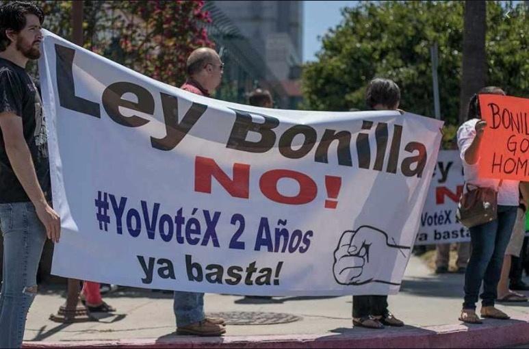 Ofrecen en BC publicar bajo protesta la Ley Bonilla