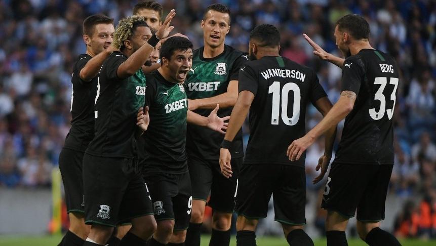 Porto queda eliminado de la Champions por el Krasnodar