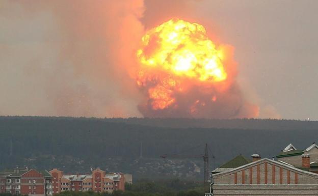Aumentan niveles de radiación en Rusia tras explosión de misil