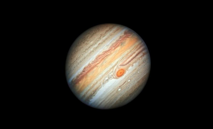 Foto captada por Hubble confirma teoría de la Gran Mancha Roja en Júpiter