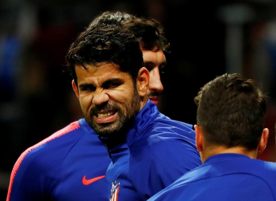 Diego Costa sufre lesión previo a debut con Atlético Madrid