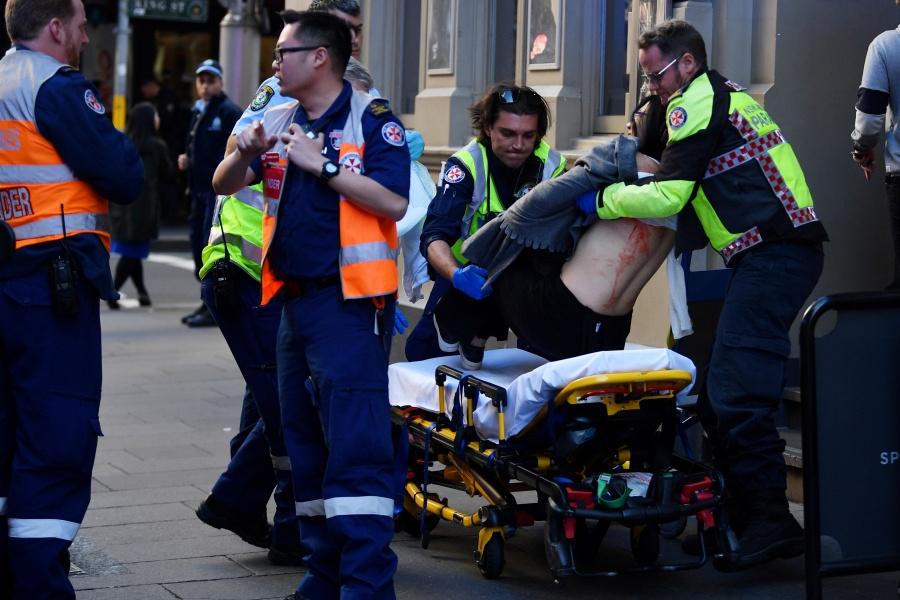 Detienen en Sydney a un hombre por ataque con cuchillo