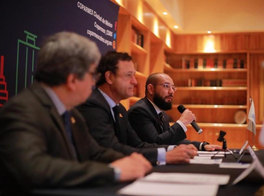 Presenta Coparmex CDMX decálogo para reactivar economía en el país
