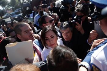 Defensa afirma que Rosario Robles es una perseguida política