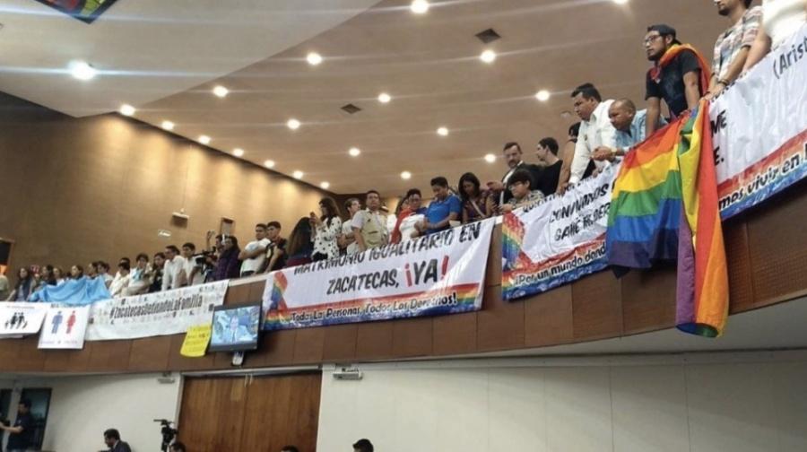 Zacatecas rechaza matrimonio igualitario