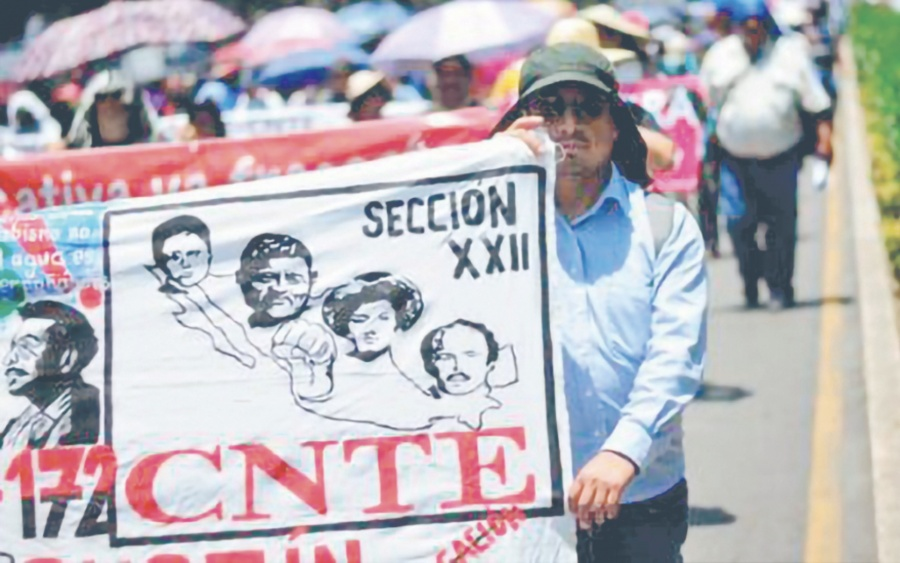 Para CNTE, crecimiento económico es dañino