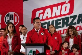 Con más de medio millón de votos, Alejandro Moreno es el nuevo dirigente del PRI