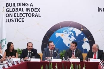 Inauguran taller para elaborar Índice Global de Justicia Electoral