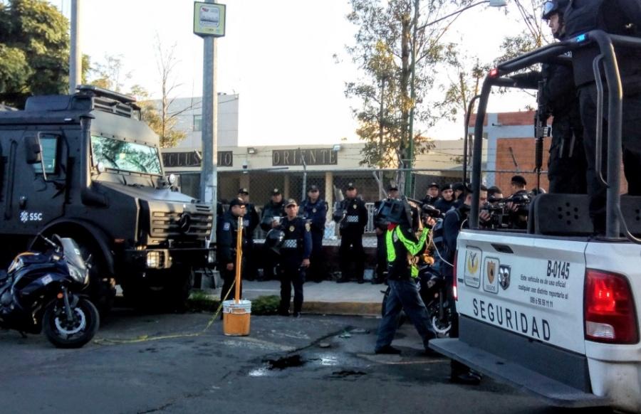 Detenido por caso News Divine, entre los lesionados por incendio en el Reclusorio Oriente