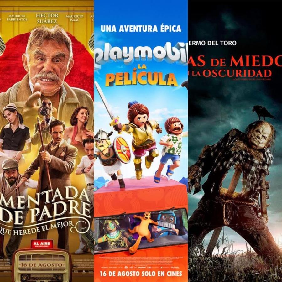 Comedia, aventuras y terror