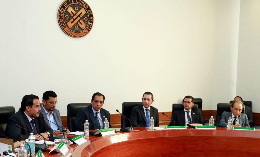 Se han intensificado los trabajos del sistema Local Anticorrupción de la CDMX: Guitiérrez Bonilla
