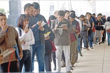 Desempleo crece y alcanza a 2 millones de mexicanos