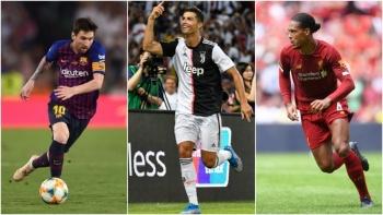 Messi, Van Dijk y Ronaldo, candidatos al Jugador del Año de la UEFA