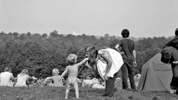 Medio siglo después salen a la luz fotos inéditas de Woodstock