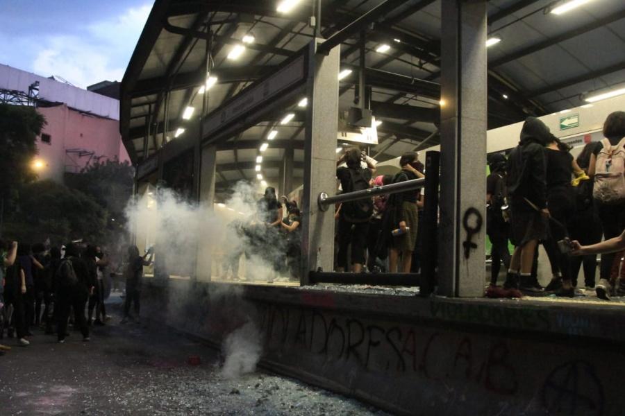 Se mantendrá cerrada la estación Insurgente de Metrobús