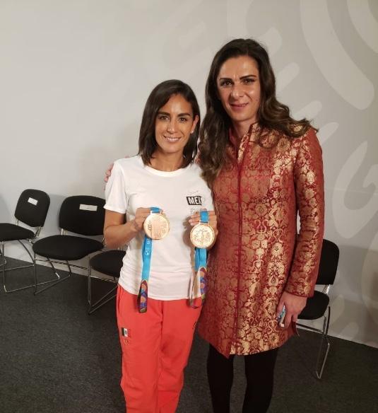 Paola Espinosa agradece a AMLO y Guevara por apoyos; la cuestionan en redes